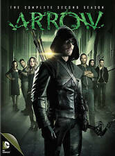 Arrow: The Complete Second 2nd 2 Season (DVD, 2014, 5-Disc Set) NEW