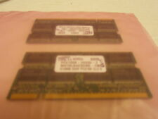 90620 2 512mb ddr pc2100s ram cards cl 2.5 tosh satellite 6100 p4 laptop works.