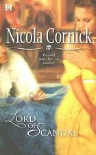Lord Of Scandal Cornick, Nicola Mass Market Paperback