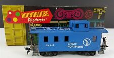 Roundhouse GN Great Northern C24 Big Sky Blue Caboose HO Scale Train