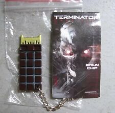 Terminator Genisys Metal Brain Chip Key Chain - June 2015 Loot Crate Exclusive