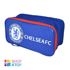 CHELSEA FC BOOT SHOES BAG BLUE CASE GYM SPORTS FOOTBALL SOCCER CLUB TEAM NEW