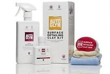 * Pack of 3 * Autoglym Surface Detailing Clay Kit [RVPCLAYKIT] 4 Piece Kit