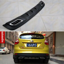 PU Rear Bumper Diffuser spoiler Bumper Protector For Ford New Focus Hatchback