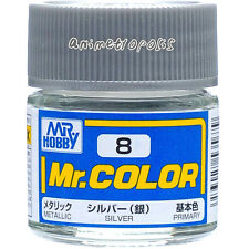 MR HOBBY Color C8 Silver Paint 10ml