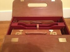 ALFRED DUNHILL LARGE ORGANIZER ATTACHE CASE DOCUMENT HOLDER ONE OF A KIND $15K+