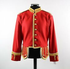 Pipe Major Scout Guard Military Doublet Red Jacket for Highland Bagpipe Band