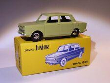 HORS Série : Simca 1000 Dinky Junior  - ref 104 au 1/43 de dinky toys atlas