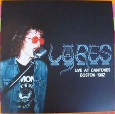 LP LYRES LIVE AT CANTONES BOSTON 1982 GARAGE VINYL