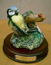 ROYAL DOULTON BLUE TIT WITH LADYBIRD GARDEN BIRDS COLLECTION MODEL No DA 3