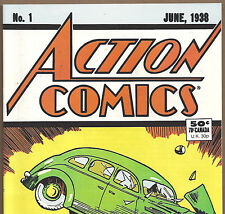 ACTION COMICS #1 first ever Superman 1988 Reprint Edition in NM condition DM