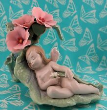 Lladro # 6786 ~ A VISIT TO DREAMLAND ~ Angel Girl  *MINT*  BUY 1 GET 1 50 % OFF