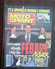 34827 Motosprint a. XX n. 50 1995 - Caschi d'Oro trionfo Max Biaggi