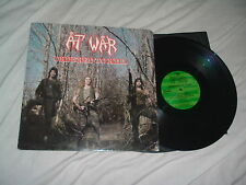 AT WAR Ordered To Kill '86 + Limited Ed 2LP lot RARE THRASH metal ORIG 1st press