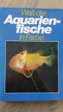 Buch Welt der Aquarienfische in Farbe Stanislaf Frank