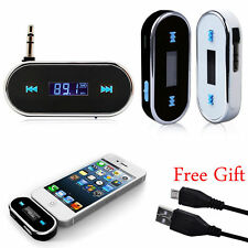 Car MP3 Player Wireless FM Radio Transmitter USB Charger For Mobile Phone