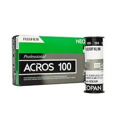 Fuji Fujifilm Neopan Acros 120 Rollfilm 5er Pack
