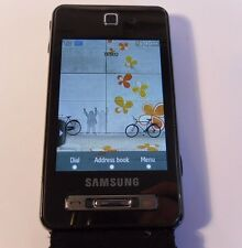 Samsung Tocco F480 - Black (Unlocked) Mobile Phone