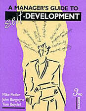 Acceptable, A Manager's Guide to Self-Development, Mike Pedler, John Burgoyne, T