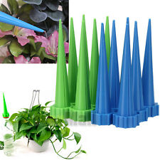 12x Automatic Garden Cone Watering Spike Plant Flower Waterers Bottle Irrigation