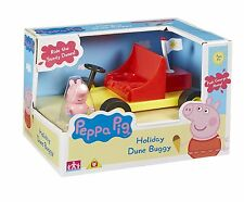 Peppa Pig Holiday Time Dune Buggy with George Figure