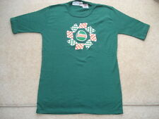 SCARCE C1970-74 VINTAGE CASTROL THOMAS TUDOR MADE UNUSED/WORN COTTON ADV T SHIRT