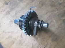 1987 kx 125 kx125 kick start gear shaft with extra gear