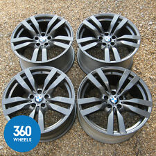 "GENUINE BMW X5M X6M M SPORT 20"" 300 M DOUBLE SPOKE ALLOY WHEELS E70 E71"