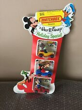 MATCHBOX WALT DISNEY HOLIDAY SPECIAL STOCKING SET (RARE) LOOK UNPUNCHED