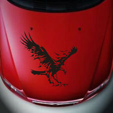 Eagle Pattern Reflective Material Car Stickers Car Engine Hood Decal Emblem Z1