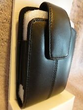 NEW Black Leather Case W/Clip Blackberry 8830 Verizon Pouch Holster Phone