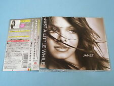 Janet Jackson Just A Little While EP japan press w/obi