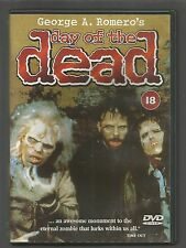 DAY OF THE DEAD - George A Romero - UK DVD