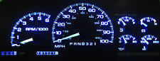 CHEVY SILVERADO 1999 - 2002 BLUE LED SPEEDOMETER GAUGE CLUSTER UPGRADE KIT