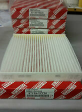 NEW TOYOTA OEM CABIN AIR FILTER 87139-YZZ08 87139-YZZ20