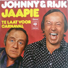 "7 "" 1972 RARE IN VG+++ ! JOHNNY & RIJK : Jaapie Jaapie"
