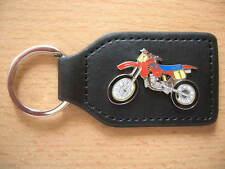 Schlüsselanhänger Maico GM 500 / GM500 rot red Motocross Moto Cross SX Art. 1114