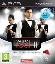 Sony PS3 Playstation 3 Spiel WSC Real 11 World Snooker Championship 2011 Billard