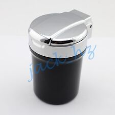 Auto Home Accessories Steel Cigarette Ashtray Cup Holder LED Smokeless Ash Tray