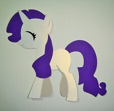 My Little Pony Rarity Paper Die Cut Scrapbook Embellishment