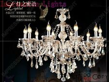 Luxury LED Crystal 8 Candle light Chandelier ceiling light bedroom living room