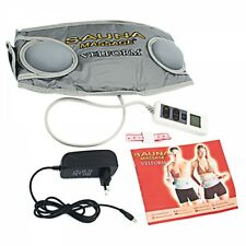 Weight Waist Fat Loss Burn Body Wrap Shaper Trimmer Belly Belt Tummy Exercise