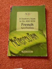 AQA Students Guide GCSE French Specifications