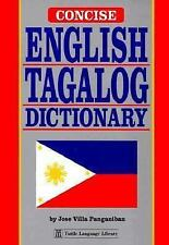 Concise English Tagalog Dictionary by Jose V. Panganiban (1994, Paperback)