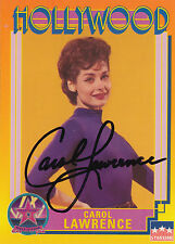 1991 Starline Hollywood card #139 signed by actress ~ Carol Lawrence