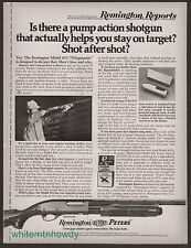 1971 REMINGTON Model 870 Wingmaster Pump Action Shotgun PRINT AD Gun Advertising