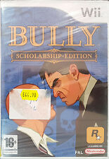 BULLY:SCHOLARSHIP EDITION Wii Game 2008-PAL-