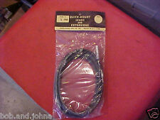 NOS DUAL RADIO ANTENNA CABLE LEAD 8 FOOT GM MOPAR FORD CHEVY MERCURY OLDS BUICK