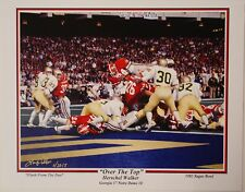 Georgia Bulldogs football Herschel Walker LE print 1980 National Champions