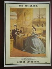 POSTCARD ROYAL MAIL THE TELEGRAPH OFFICE - SHEET MUSIC COVER